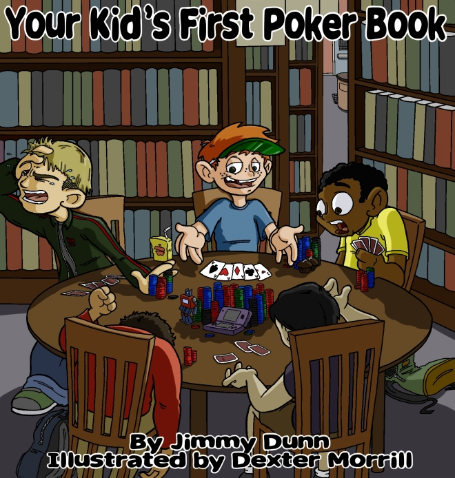Poker book cover
