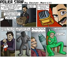 Power Strip #7 featuring: On Being Human