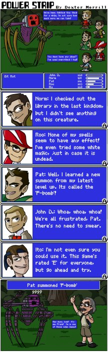 featuring: John D., Ito, Norm, Roo and Pat the NES Punk