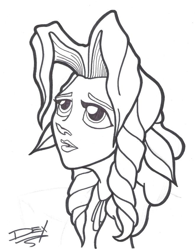 aeris sketch