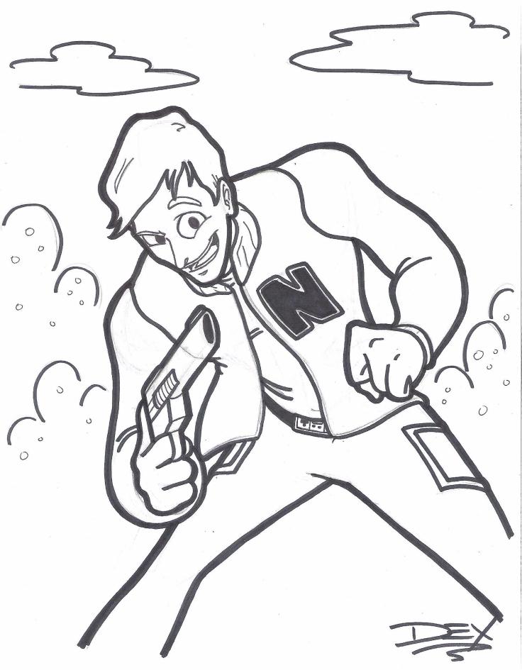 Captain N sketch