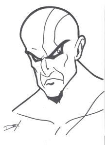 Kratos sketch