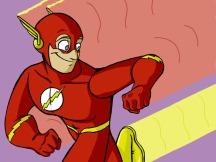 """The Flash"" - 8.5"" x 11"" - $15"