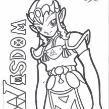 """""""Zelda: Wisdom"""" - 8.5"""" x 11"""" $10"""