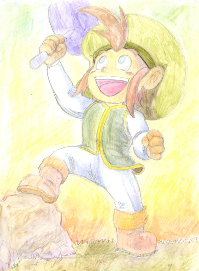 Ichi found a hammer