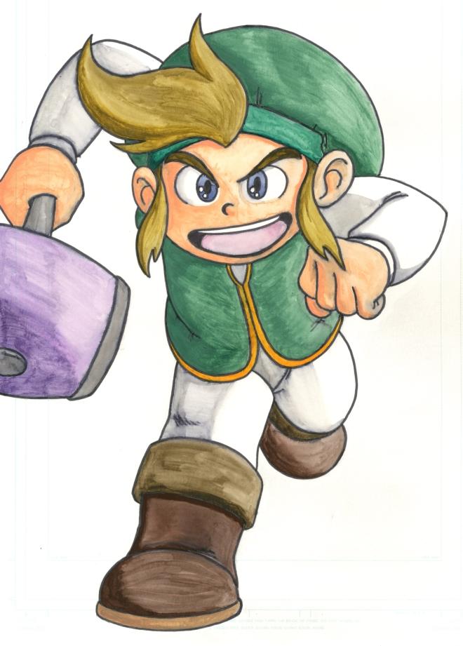 Ichi watercolor