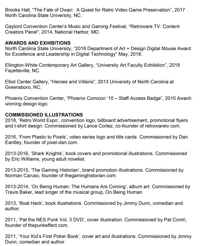 CV - Dexter Morrill (Page 2)